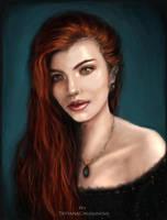 Portrait study #2 by TatyanaChugunova