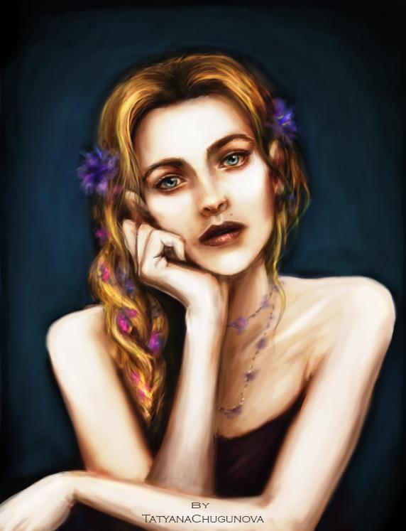 Portrait study #3 by TatyanaChugunova