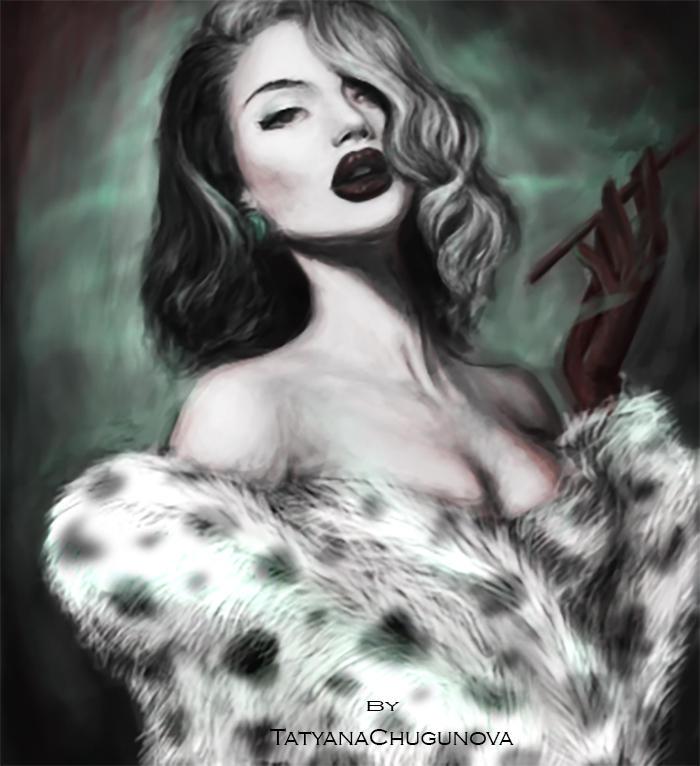 Cruella de Vil by TatyanaChugunova