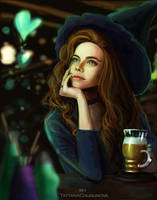 Witch's Love by TatyanaChugunova