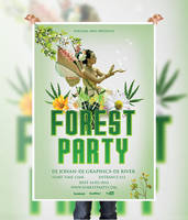 Forest Party Flyer by naeem1200