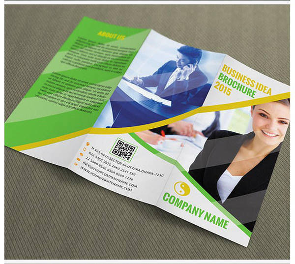 Free download Trifold Brochure Template by naeem1200