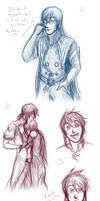 Abyssmal Doodles. by Lunaromon