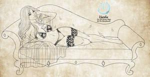 C: Vaesha Draecon by The-Moonbound