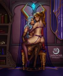 C: Dalaran sweethearts by The-Moonbound