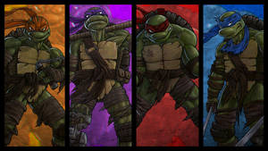 TMNT 2 by DeadPea