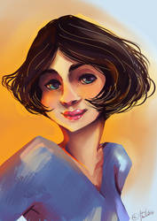 Quick color study by Venorra