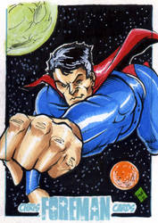 Supes in space PSC by Foreman by chris-foreman