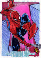 Spiderman PSC by Foreman by chris-foreman
