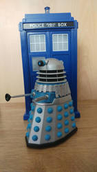Custom Doctor Who Figure Repainted Dalek by Alvin171