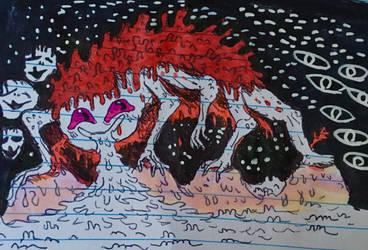 touching monster by Apgigan