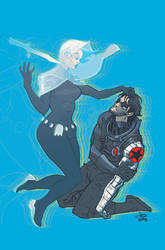 Tes and Bucky by JasonLatour