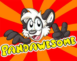 pandawesome by Hukley