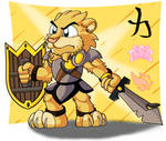 Lion-man by Hukley