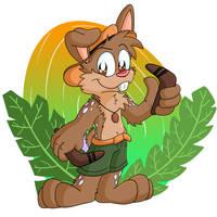 Boomerang Bunny by Hukley
