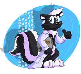 Science Skunk by Hukley