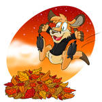 Renegade Roo autumn by Hukley