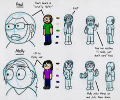 Paul and Molly by SketchyAntics