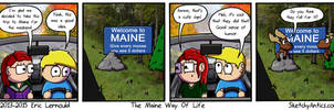 The Maine Way Of Life by SketchyAntics