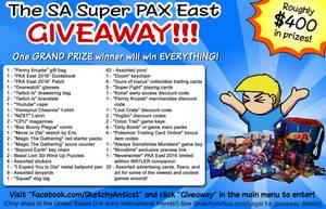 SA Super PAX East Giveaway by SketchyAntics