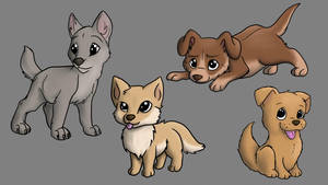 How About Some Puppies? by SketchyAntics