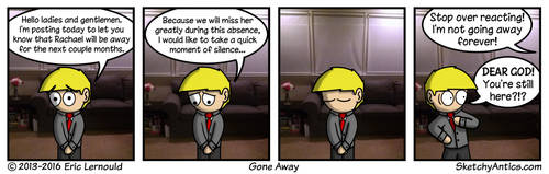 Gone Away by SketchyAntics