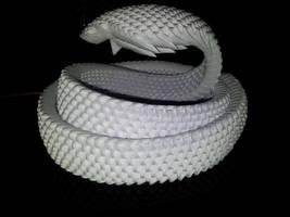 3D origami Cobra v.2 by UNSJN