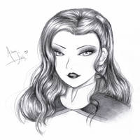 Miss Asami Sato by Macabrelle
