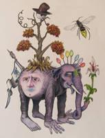 Brooke's Elephant by BlueBurgStudios