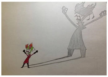 Zim, The Master Of Darkness by Artist-on-Board