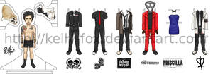 Billie Joe Armstrong PaperDoll by kelly42fox