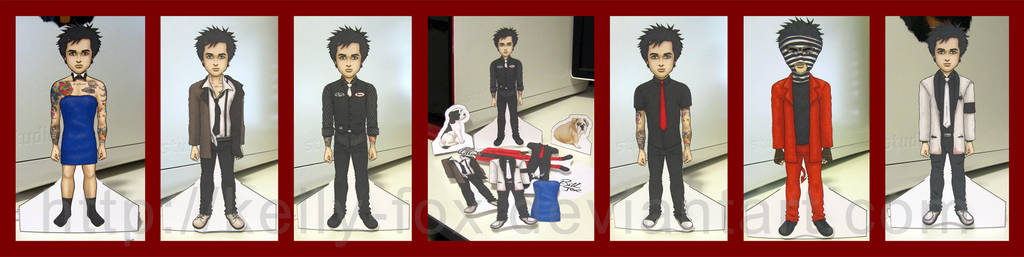 Billie Joe Paper Doll Dressed by kelly42fox