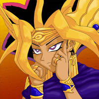 One of Those Days for Atem by kelly42fox