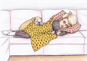 Sleepy Billie Joe - Colored by kelly42fox