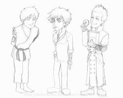 Green Day Halloween 2012 Sketch by kelly42fox