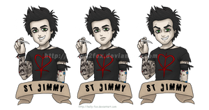 St Billie Tattoo by kelly42fox