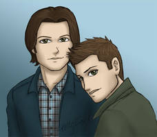 Supernatural - Winchester Bros 02 by kelly42fox