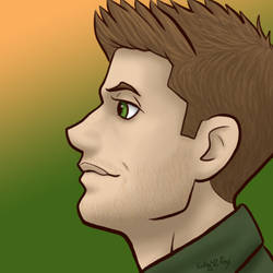Supernatural - Dean by kelly42fox