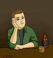 Supernatural - Yeah, you're 37 Dean Winchester by kelly42fox