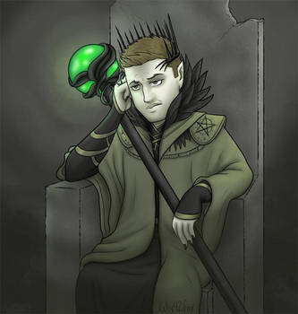 Witch King Dean by kelly42fox