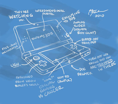 3DS hardware specifications by TurnThePhage