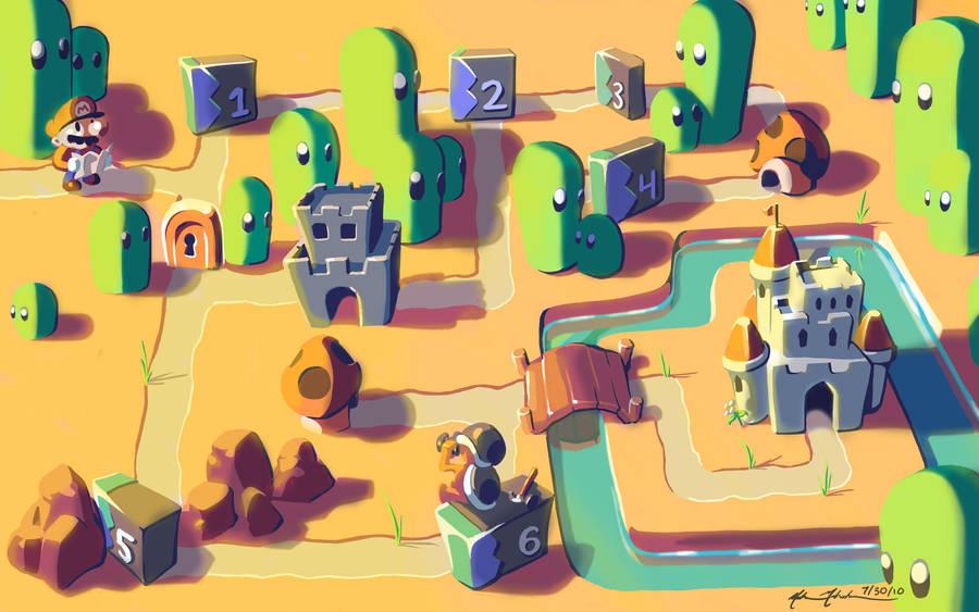SMB3: Grass Land by TurnThePhage
