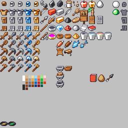 Minecraft: Items Reskin by TurnThePhage