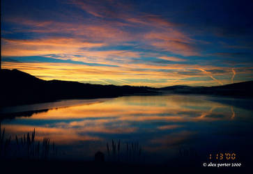 crystal springs reservoir by spillmind