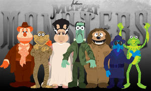 Muppet Monsters by Gr8Gonzo