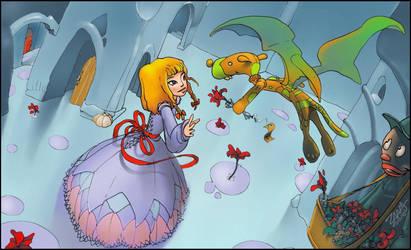 Alice in BlueLand by ZaaMaMuZ
