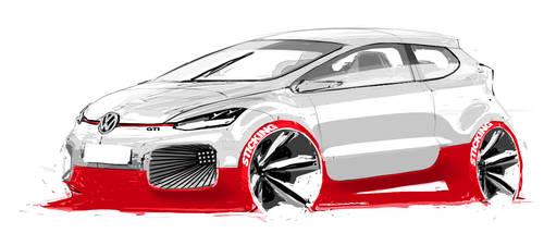 VW GTI Concept by fogarasi