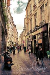 Juedisches Viertel PARIS by Finvara