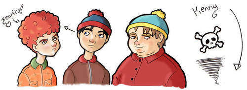 South Park- Generic in Colour by RavenScarlett