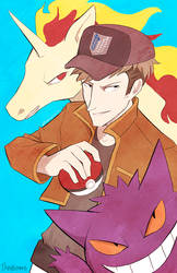 Pokemon Trainer Jean by StrawberryQuincy